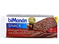 BIMANAN SNACK  CRUJIENTE DE CEREALES CON CHOCOLATE CON LECHE